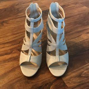 Unisa Silver Heels